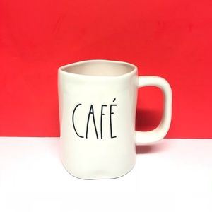 Rae Dunn Brand new Spanish CAFE' mug